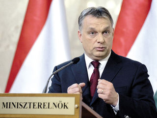 "Orban and his party, Fidesz, should leave the EPP, he added. But a day later Juncker called, totally surprising his audience, the Hungarian PM still 'my friend'. Anyhow, Angela Merkel offered Juncker immediately her ""full solidarity"", what is not surprising, the German chancellor is another of Orban's favorite targets. But she didn't say anything about Fidesz should leave the EPP."