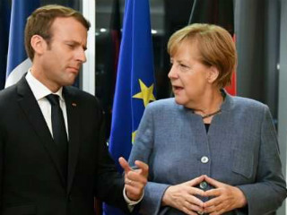 Merkel's choice for the function of President of the European Commission remains Manfred Weber, the 'Spitzenkandidat' of the centre-right EPP.  But Macron, and many of the leaders with him, see Weber as a too light weight, with insufficient experience for this job. He has never achieved a more important function than leader of the EPP group in the European Parliament.