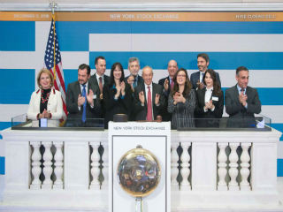 "This year's ""Greek Day at NYSE"" featured Greek Government Officials and executives representing companies listed in the United States as well as companies that participated at the 20th Annual Capital Link Invest in Greece Forum, which was held in great success the previous day"