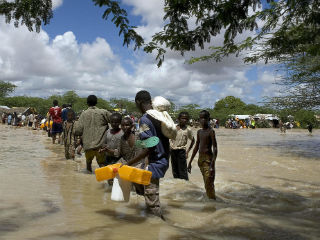 That people are forced to leave their homes because of climate change is not at some distant time in an unimaginable future, it is happening right now. And mass displacement caused by climate change can also ignite conflict.