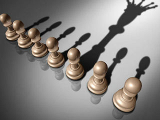 Leadership is a constant exchange between leader and follower. It is both verbal and non-verbal. The strength of the relationship depends on each party's capacity to support the other. Being a good leader involves knowing one's own strengths and weaknesses. It requires being able to listen and follow a subordinate, should their unique expertise afford them a temporary leadership role.