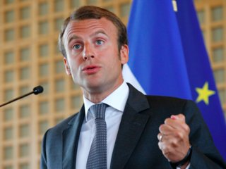 "Macron also used the occasion to criticize U.S. President Donald Trump for ""quitting a major disarmament treaty which was formed after the 1980s euro-missile crisis that hit Europe. Who is the main victim? Europe and its security."""