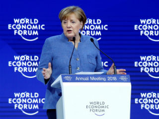 """Have we actually learned the lessons of history? We haven't really,"" she said in a plenary session at Davos. The spirit of multilateralism that rebuilt Europe and formed our international institutions in the aftermath of the Second World War was now under threat, she said."