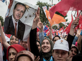 Erdogan, 64, the most popular - yet divisive - leader in modern Turkish history, told jubilant, flag-waving supporters there would be no retreat from his drive to transform Turkey, a NATO member and, at least nominally, a candidate to join the European Union.