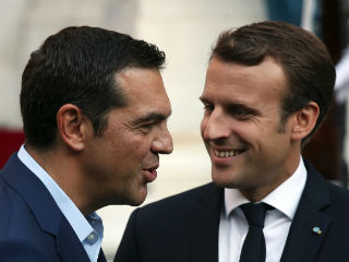 """We need to redesign the future of Europe. It is a political obligation of our generation, Emmanuel,"" he said addressing the French president.  It became apparent in his introduction  that the Greek PM has made a clear choice for the ideas recently set out by Macron on the future of the EU."