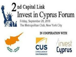 The conference aims to raise awareness about Cyprus as a global business and investment destination to a wider investor audience through a prestigious, high caliber, high impact event in New York City.